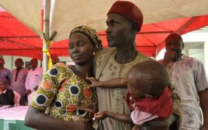 My daughter was pregnant when Boko Haram abducted her – Father of rescued Chibok girl