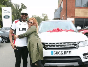 E-Money gifts wife customised Range Rover Super Sport 2016 in London (Photos + Video)