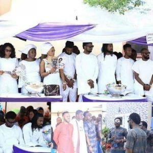 Basketmouth's mom laid to rest..