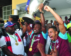FC Ifeanyi Ubah win the 2016 Nigeria Federation Cup