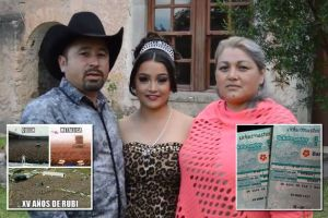 Young Mexican girl's birthday party invitation goes viral, now 1.2 million people say they want to attend (Photo)