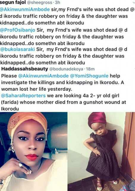 , Woman murdered by armed robbers in Lagos,her daughter kidnapped, Effiezy - Top Nigerian News & Entertainment Website