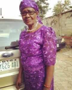 Controversial Kemi Olunloyo posts picture of her mom
