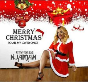 Empress Njamah releases Christmas photos with loving words