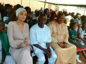 Oshiomole and wife attend event after a short hiatus