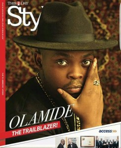 Olamide covers This Day Style Newspaper