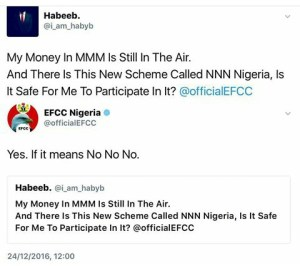 EFCC continues to show goofy side…