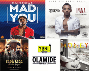 Top 5 Hottest Nigerian Songs of 2016
