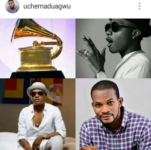 Nollywood actor,Uche Madagwu prophesizes for Wizkid