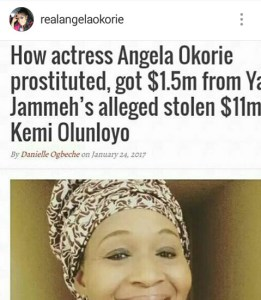 , The war between Kemi Olunloyo and Angela Okorie continues, Effiezy - Top Nigerian News & Entertainment Website