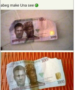 Lady laments about the condition of naira notes dispensed by ATM machines