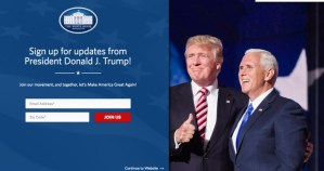 The white house LGBT rights page disappears