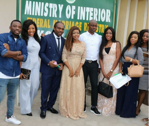 , Laura Ikeji and Ogbonna Kanu get married (Photos), Effiezy - Top Nigerian News & Entertainment Website