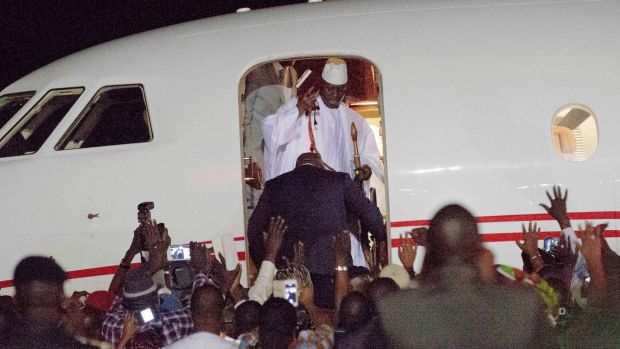 , APC chieftain, Tinubu's private jet used to fly Yahya Jammeh out of Gambia, Effiezy - Top Nigerian News & Entertainment Website