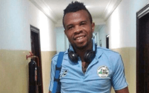 Nasarawa United FC player, Henry Obiekwu slumps and dies on the Pitch (Photo)