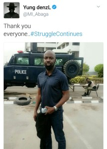 Chocolatecity boss ,Audu Maikori freed