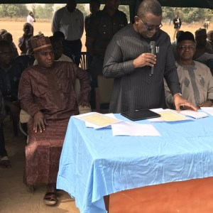 Minister of health visits lepers in Abuja