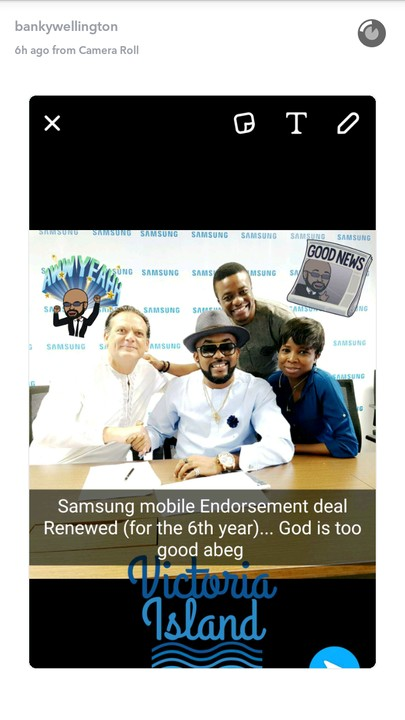 , Banky W retains his endorsement as Samsung ambassador for the sixth year running, Effiezy - Top Nigerian News & Entertainment Website