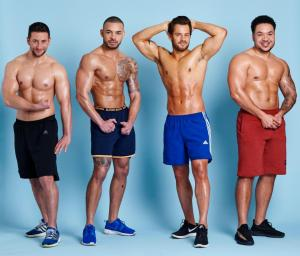 We will prefer to have six packs than have sex ,these four men claim