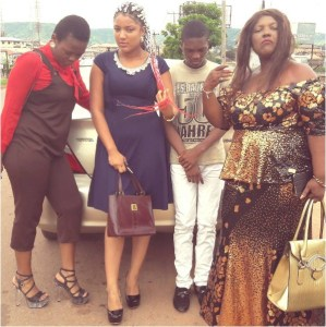 Check out photo of Gifty and her family