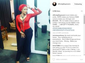 Gifty shuts down her ex-husband's cousin