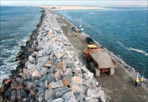 Great Wall of Lagos almost completed