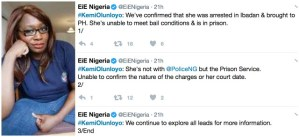 Kemi Olunloyo to be remanded in prison till she meets bail conditions