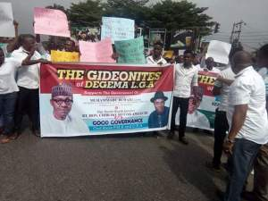 One million solidarity march in support of Buhari and Amaechi held in Port Harcourt
