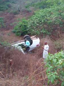 Governor Okowa's personal assistant survives accident
