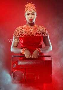 Check out beautiful photos of Dancehall Queen,Cynthia Morgan as she covers Vibe magazine