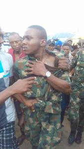 Fake soldier nabbed in Port Harcourt