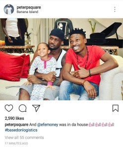, BBNaija winner, Efe visits PSquare in their Banana Island home, Effiezy - Top Nigerian News & Entertainment Website