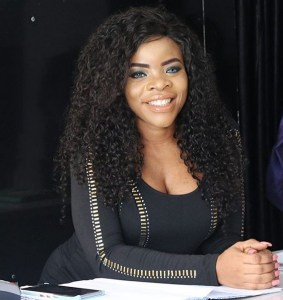 Laura Ikeji rocks hot skintight as she to plans step out with hubby after church