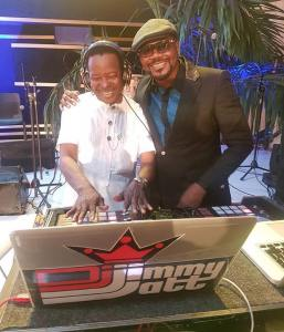 King Sunny Ade and DJ Jimmy Jat disc jockeyed Aliko Dangote's birthday