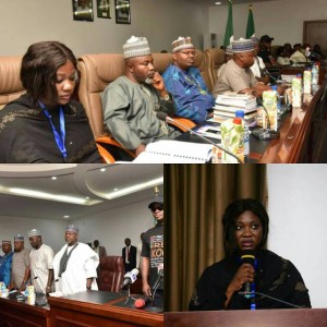 Mercy Johnson hosts first stakeholders meeting in Kogi state