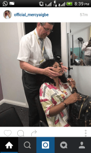 Mercy Aigbe visits Surgeon in the UK after beatings from husband