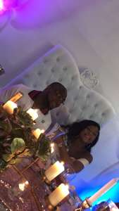 Davido and new baby mama celebrate their baby shower in the US. Check out videos
