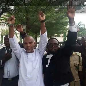 We begged Nnamdi Kanu to accept bail- Barrister Maxwell Opara