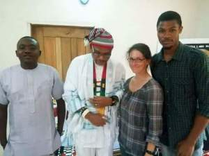 , Foreign journalist visit Nnamdi Kanu in Umuahia for an interview, Effiezy - Top Nigerian News & Entertainment Website
