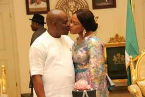 Jonathan attends First Lady of Rivers state birthday party
