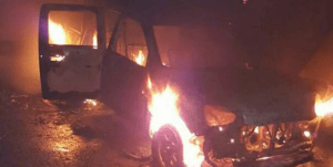 Many police officers feared dead as 'Naval officers' attack police station in Calabar (Photo)