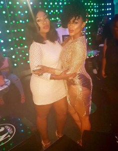 Uche Ogbodo rocks hot pants at birthday bash