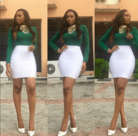 Stunning picture of curvy actresss, Ebube Nwagbo that made her fans excited
