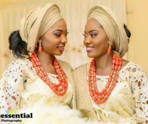 Twins wed their childhood sweethearts in a day
