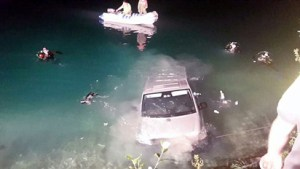 Couple drown during sex in the lake