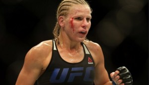 UFC Fighter Justine Kish poops on herself during fight (See Photos+Video)