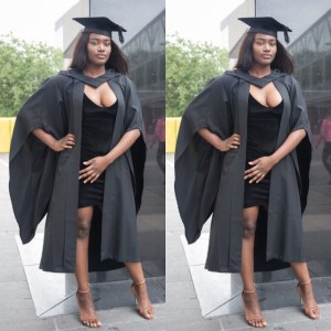 The way this lady celebrated her graduation has gotten Twitter users upset