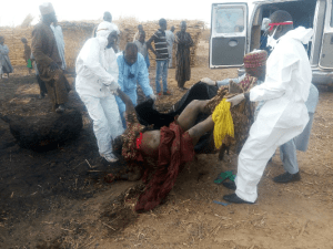 Bombers killed in failed attack on IDPs camp