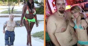 Awkward couples you would ever see (Photos)… lol