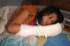 SAD: Husband chops off wife's fingers to stop her from furthering her education